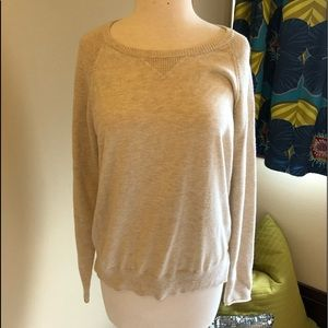 Athelta Crew sweater-Med. GUC Cream